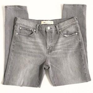 GAP | Light Grey Best Girlfriend Cropped Jeans